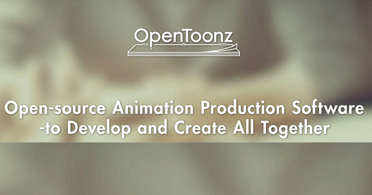 Open-source Animation Production Software